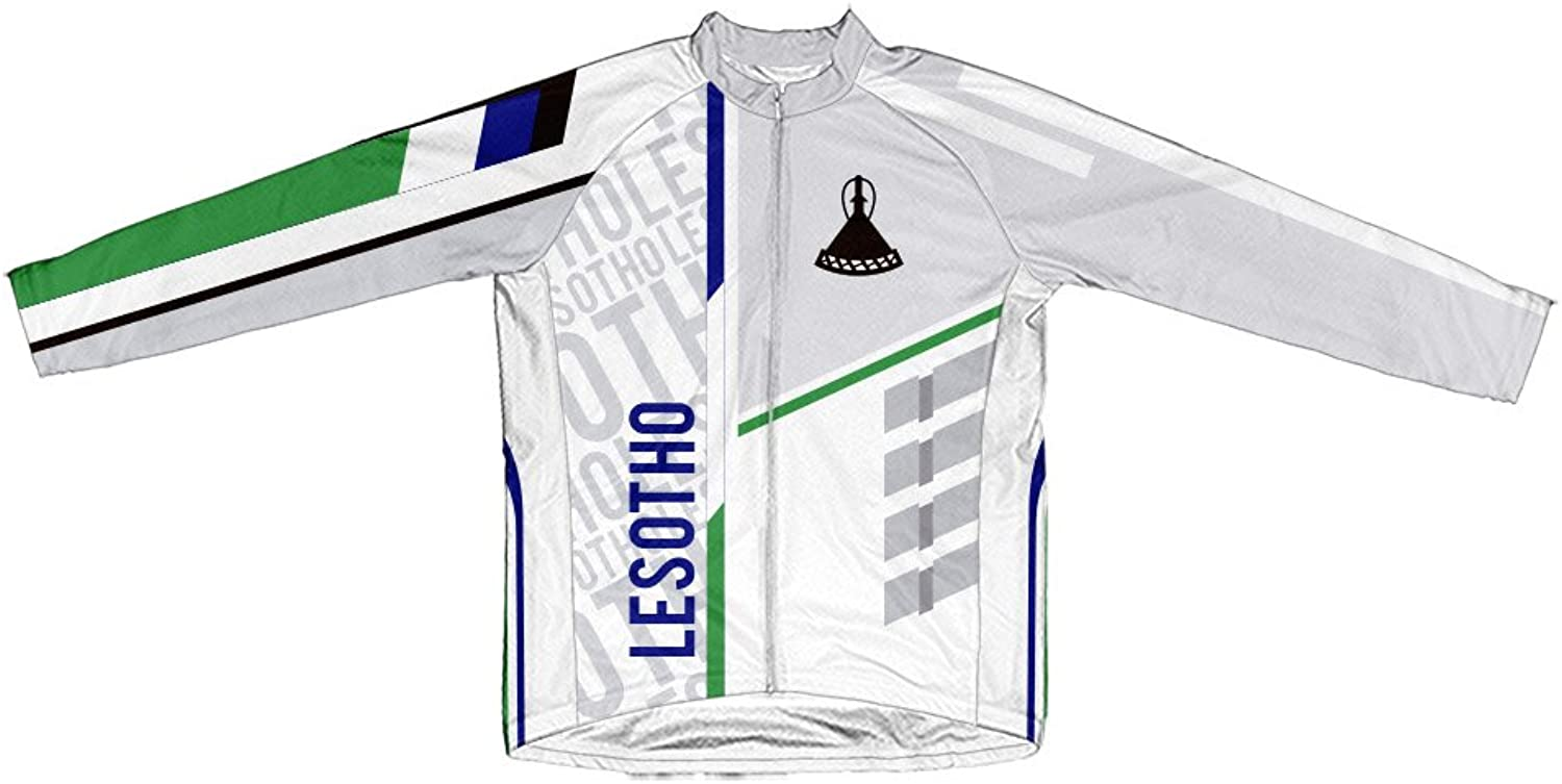 Lesotho ScudoPro Winter Thermal Cycling Jersey for Women