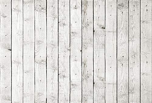 nivius Photo 150* 220cm Horizontal de color blanco madera suelo Impreso fotografía kulissen...