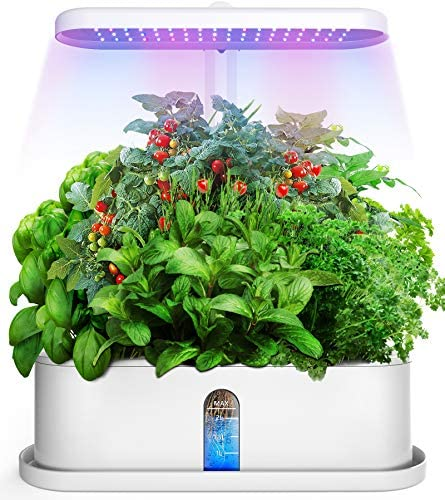 Elechome Hydroponics Growing System Smart Indoor Herb Garden 10 Pots Plant Germination Kits product image