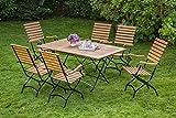 MERXX Schlossgarten Set 7tlg, Natur