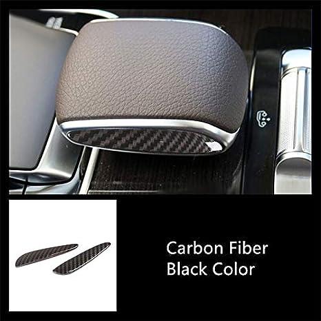SPLLEADER Fibra de Carbono de Color Cambio de Engranaje de Ajuste de la Cubierta del Panel for Mercedes Benz W167 GLE GLS 2020 Car Styling Rejillas de Ventilaci/ón Accesorios Decoraci/ón Interiores