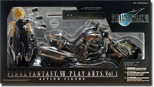 Final Fantasy VII Cloud Strife & Hardy Daytona Action Figure Deluxe Set (japan import)