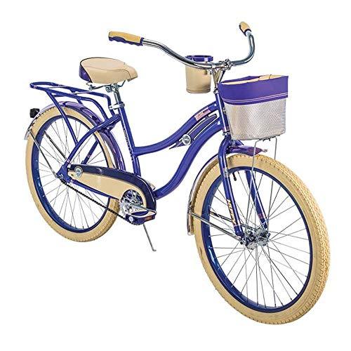 Huffy Beach Cruiser Bike Girls 24-inch Bicycle for Kids