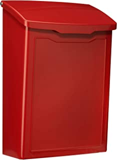 Best red wall mailbox Reviews