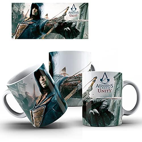 Caneca de Porcelana Presente Assassin's Creed Unity mod.58