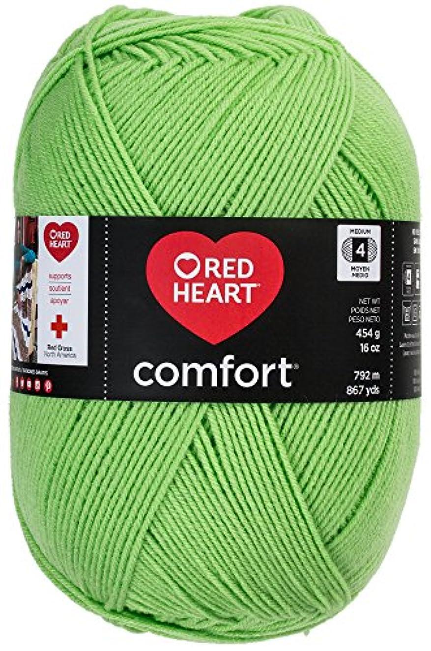 Red Heart Comfort Yarn, Melon Green