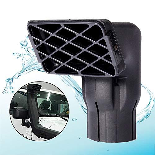 BAAQII Cabezal Universal de admisión de Aire con Cabezal de Snorkel de 3 mm y 75 mm para Off Road 4X4 4WD