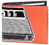 Atari Console Hombre Cartera Naranja, Poliuretano,