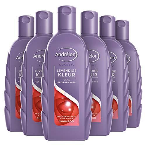 Andrélon Levendige Kleur Shampoo 6 x 300 ml