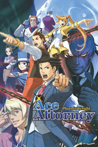 Ace Attorney Notebook: - 110 Pages, In Lines, 6 x 9 Inches