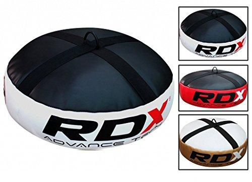 RDX Doppelendball Anker Bag Boxsack Boden MMA Boxen Schwere Haken Gym (MEHRWEG)