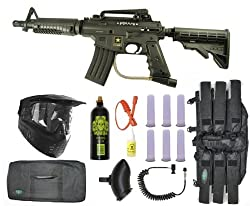 US Army Alpha Black Tactical Paintball Marker