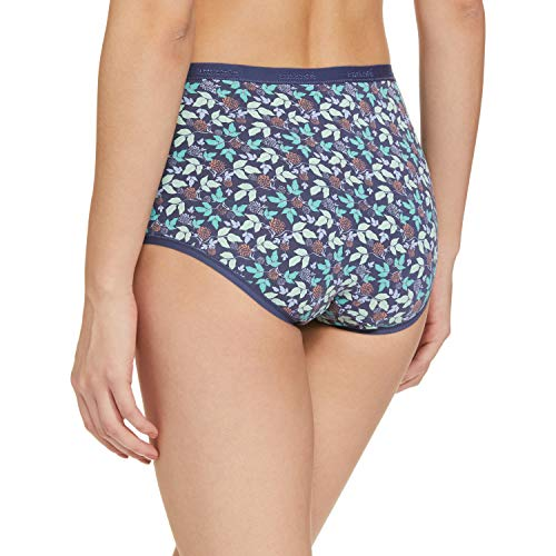 Amante Printed Full Converage Cotton Full Brief Panty Pack (Pack of 3)
