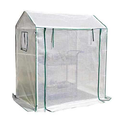 Serres Mini Grandir Maison, Isolation Revêtement Extérieur La Pluie Intérieur Extérieur Balcon Jardin Herb Flower (Color : A)