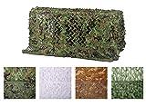 Chiglia Filet de Camouflage 1.5x2m Woodland Couverture Camouflage Filet Net