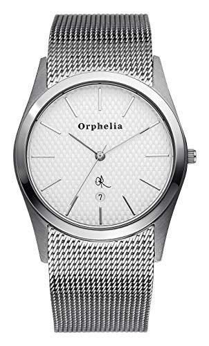 Orphelia OR22770188 Orologio da Polso al Quarzo, Analogico, Uomo, Acciaio Inossidabile, Argento