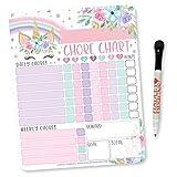 Unicorn Kids Chore Chart Magnetic, Reward Chart for Kids, Good Behavior Chart for Kids at Home, My Responsibility Chart for Kids, Magnetic Reward Chart for Kids Behavior, Chore Chart for One Child