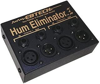 Ebtech HE-2-XLR Hum Eliminator 2-Channel Box with XLR Jacks