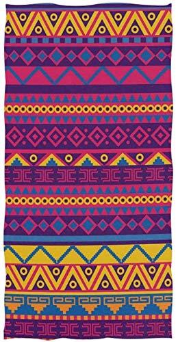 Toalla de cocina de estilo mexicano brillante para baño, toalla set yoga piscina toalla cara, toalla de baño super suave toalla de baño suave, toalla conjunto de toalla gimnasio playa baño plato