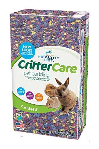 Critter Care Confetti Paper Bedding