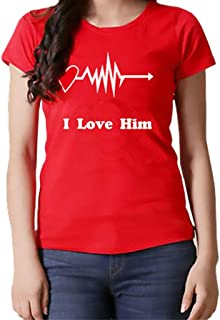 Womens Print Tops Valentines Day Graphic T Shirt with Cute Cartoon Design Summer Casual Gnomies Printed Tees Streetwear Going Out Clothing Cute Dwarf Pattern Pullover Blouse Tunic