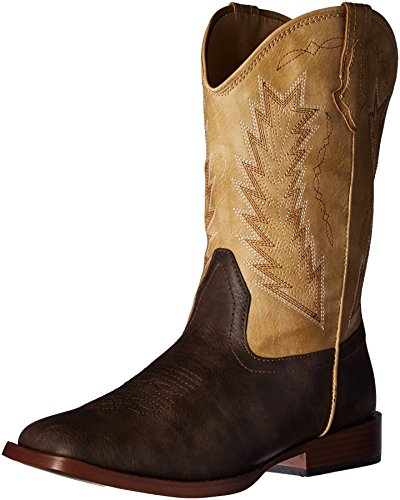 ROPER Baby-Boy's Billy Western Boot, Brown, 4 M US Infant