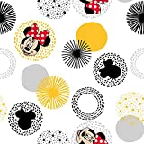 Minnie Mouse Traditonal Modern Minnie Fabric by The Yard