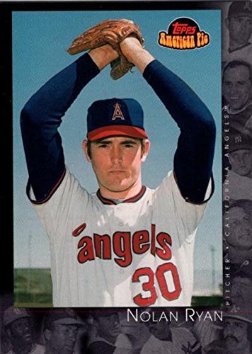 Nolan Ryan baseball card (California Angels) 2001 Topps American Pier #63