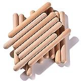 Rhythm Music Lummi Sticks for Kids, 16 Pack Sticks with Carry Bag, 8 Inch