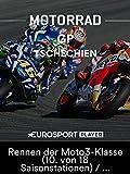Motorrad: MotoGP - Großer Preis von Tschechien in Brünn - Rennen der Moto3-Klasse