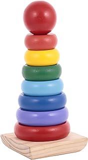 لعبة راينبو الخشبية مع برج بعمود من كانو - CT181216RJ73