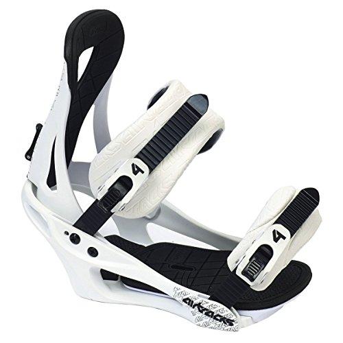Airtracks snowboardbinding Savage W mat/snowboard binding maten M L