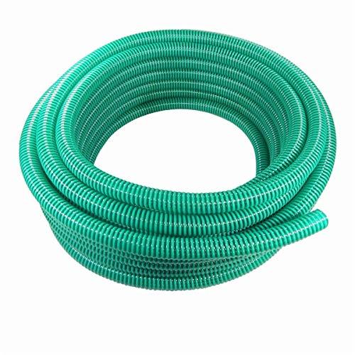 Saugschlauch Spiralschlauch Förderschlauch Pumpenschlauch grün 25 Meter Rolle 25mm (1