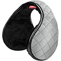 Lambor Studios Adjustable Foldable Unisex Winter Ear Muffs (Grey)
