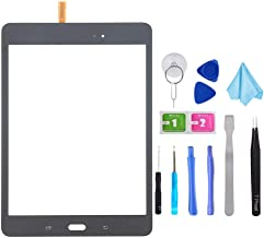 Black Touch Screen Digitizer Glass Replacement for Samsung Galaxy Tab A 8.0 SM-T350 T350 (Not Include LCD) with Tools + Pr...