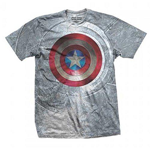 Rockoff Trade Captain America Civil War Shield Sublimation, Camisetas para Hombre, Multicolor,...