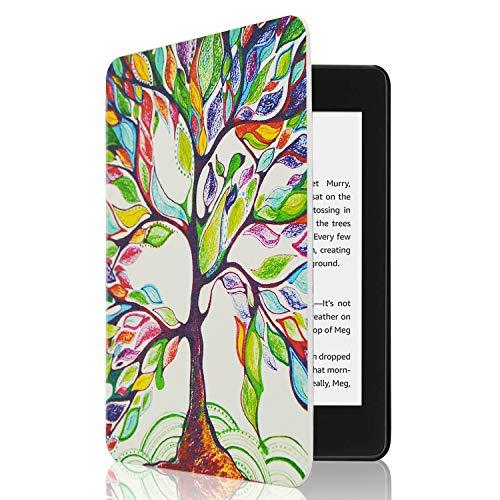 CoBak Schutzhülle für Kindle Paperwhite, PU-Leder, für alle Paperwhite Generation