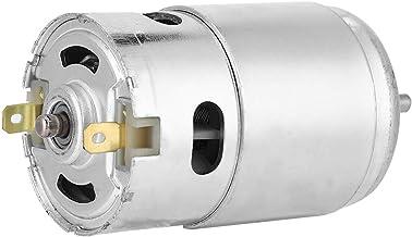 Högeffektsmotor med dubbla kullager 12V 3000 RPM DC-motor med låg ljudnivå för trådsågar för bandsågar för skärmaskiner
