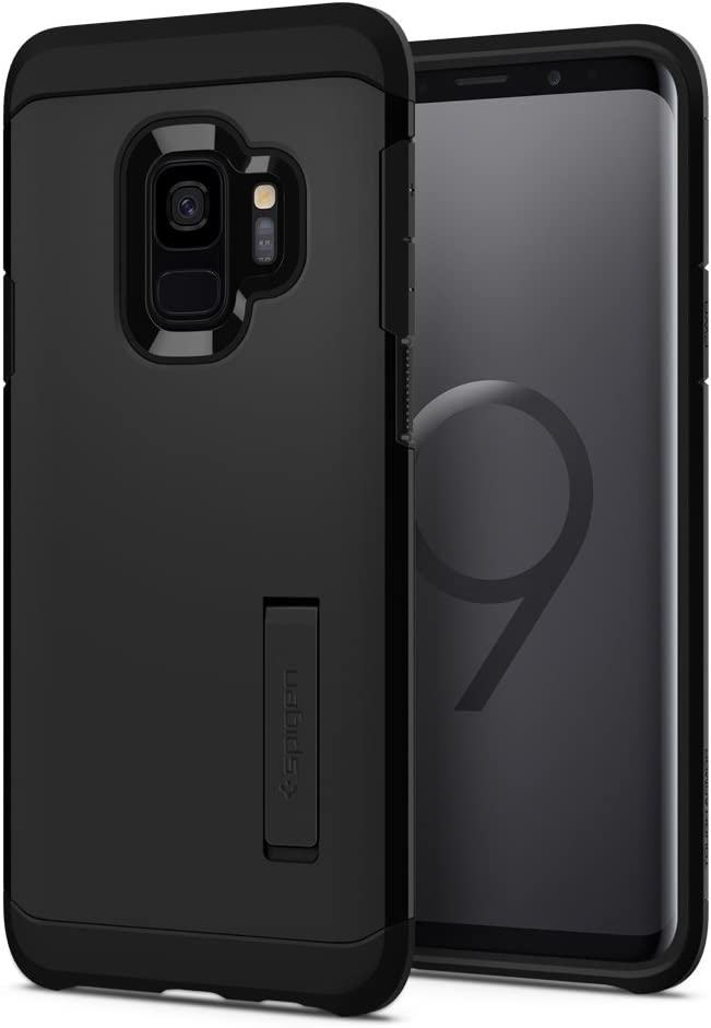 Spigen Tough Armor Designed for Samsung Galaxy S9 Case (2018) - Black