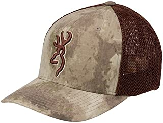 Browning 308835084 Cap, Speed Mesh Flexfit, A-TACS Au, Large/X-Large