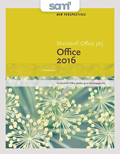 Bundle: New Perspectives Microsoft Office 365 & Office 2016: Introductory, Loose-leaf Version + SAM