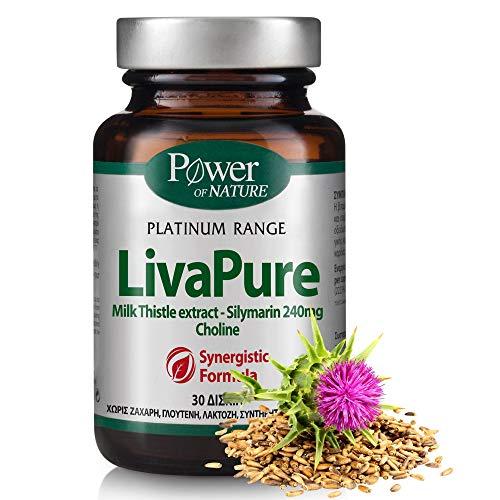Leber-Komplex Hochdosiert, 6-Fach Mit Mariendistel-Samen-Extrakt (Garantiert 80% Silymarin-Gehalt 240Mg), Cholin, Folsäure, Kalzium, Vitamin B6 & B12