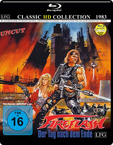 Fireflash - Der Tag nach dem Ende - Classic HD Collection - UNCUT (Blu-ray + DVD)
