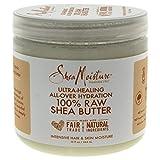 Shea Moisture 100% Raw Shea Butter Intensive Hair & Skin Moisture for Unisex - 15 oz Oil.