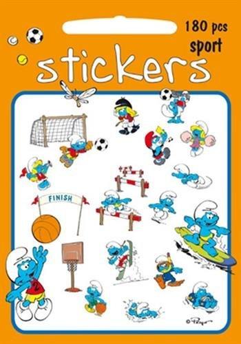 DIE SCHLÜMPFE Sticker-Spaß jeweils 4 x Sheets 17x22 cm: Auswahl verschiedener Themen (5 Stickers SPORT (180 Motive))