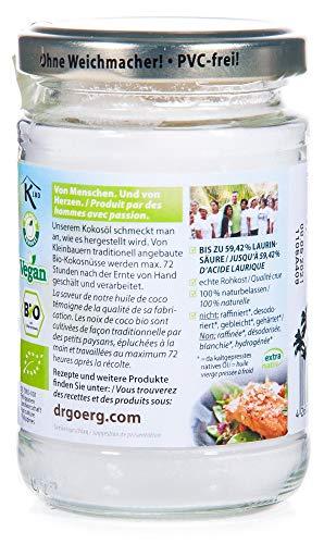 Dr. Goerg Premium Bio-Kokosöl 200ml - 2