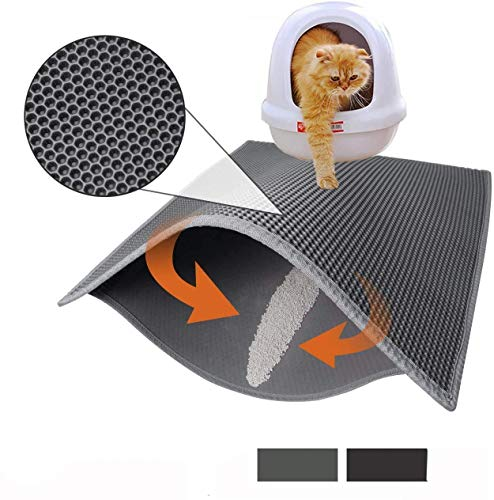 Cat Litter Mat Litter Boxes Trapper Mat of Large...