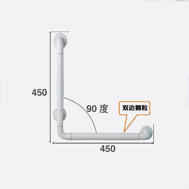 WAWZJ Handrail Bathroom Free Toilet Seat Toilet Toilet Handle,White,A