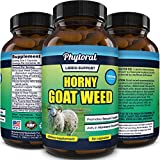 Pure Horny Goat Weed Extract with Maca Powder – Immune Support – Helps Increase Drive and Stamina – testosterone booster for Men and Women Tongkat Ali plus L-Arginine increases energy – 60 Capsules