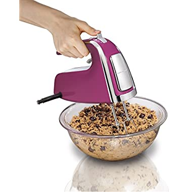 Hamilton Beach 62621 6-Speed Hand Mixer with Snap-On Case